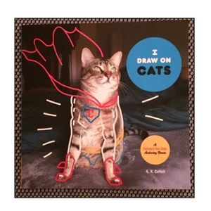 New! I Draw On Cats Activity Book